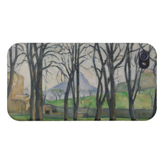 Chestnut Trees at Jas de Bouffan, c.1885-86 iPhone 4 Covers