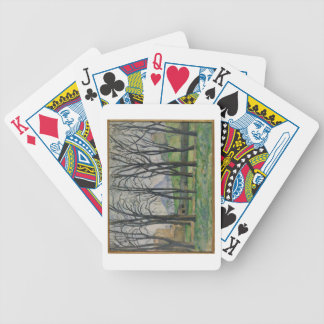 Chestnut Trees at Jas de Bouffan, c.1885-86 Playing Cards