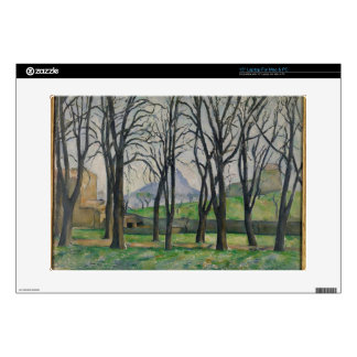 Chestnut Trees at Jas de Bouffan, c.1885-86 Decal For Laptop