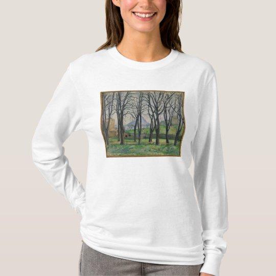 Chestnut Trees at Jas de Bouffan, c.1885-86 T-Shirt