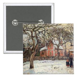Chestnut Trees at Louveciennes, c.1871-2 Button