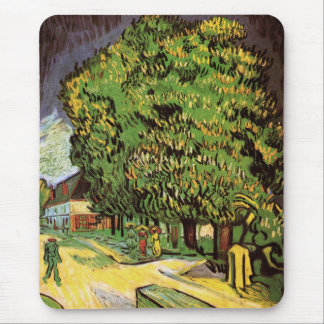 Chestnut Trees in Blossom Mouse Pad