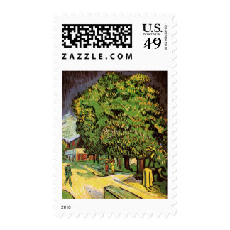 Chestnut Trees in Blossom Postage
