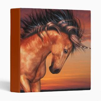 Chestnut Unicorn Binder