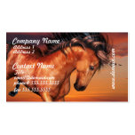 Chestnut Unicorn Business Cards