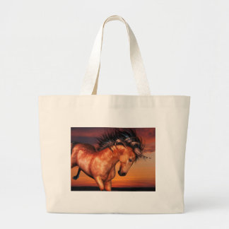 Chestnut Unicorn  Canvas Bag
