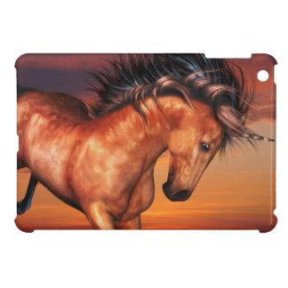 Chestnut Unicorn Case For The iPad Mini