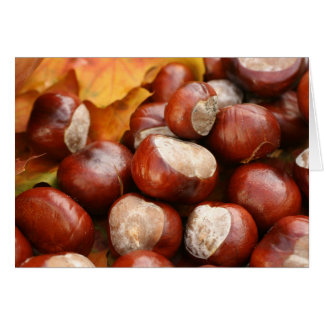 chestnuts card