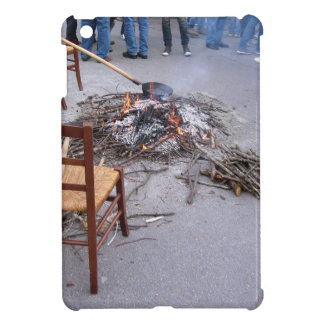 Chestnuts roasting on an open fire iPad mini covers