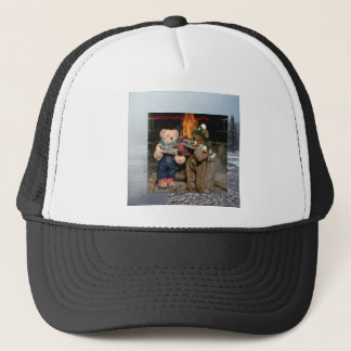 Chestnuts Roasting Trucker Hat
