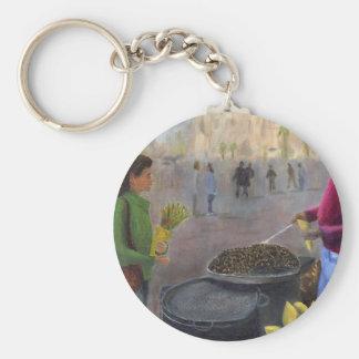Chestnuts Vendor Keychain