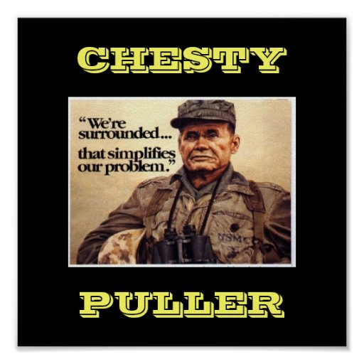 CHESTY POSTER