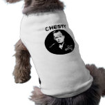 Chesty Puller -- Black and White Doggie T Shirt