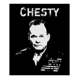 Chesty Puller print