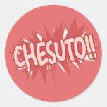 Chesuto!! - Sticker Sheet