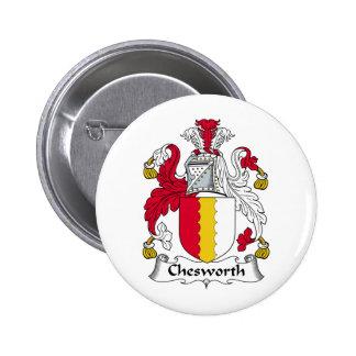 Chesworth Family Crest Pins