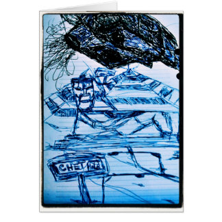 CHET GREETING CARD