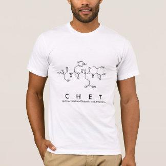 Chet peptide name shirt