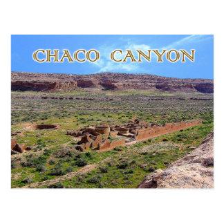 Chetro Ketl en el barranco de Chaco, New México Postal