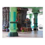 Chettiar Hindu Temple, Central shrine Postcard