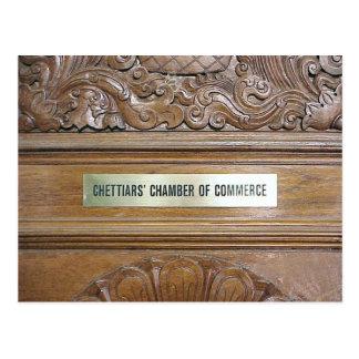 Chettiar Hindu Temple, Chamber of Commerce Postcard