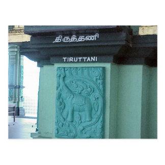 Chettiar Hindu Temple, Elephant decoration Postcard