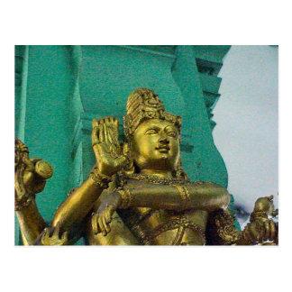 Chettiar Hindu Temple, Hindu goddess Post Card