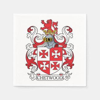 Chetwood Family Crest Paper Napkins