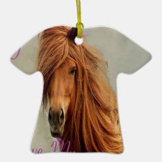 CHEVAL.png SUCKS Double-Sided T-Shirt Ceramic Christmas Ornament