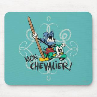 ¡Chevalier de Mickey el | lunes del francés! Mousepad