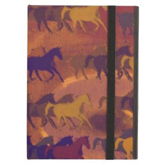 chevaux iPad cases