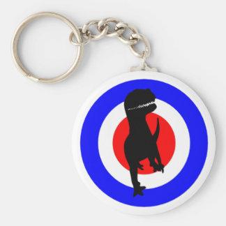 Cheveiro Dinolino Underground Basic Round Button Keychain