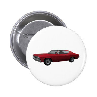 Chevelle 1968 SS: El caramelo Apple acaba Pin