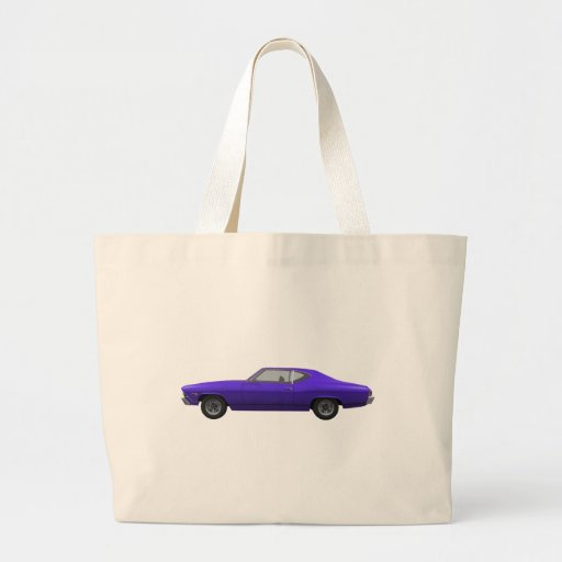 Chevelle 1968 SS: Final púrpura Bolsa De Mano