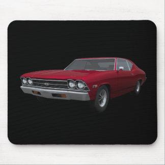 Chevelle 1969 SS: El caramelo Apple acaba: Mousepa Tapete De Ratones