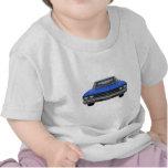 Chevelle 1969 SS: Final azul Camisetas