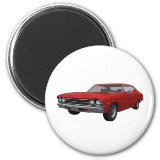 Chevelle 1969 SS Final rojo Imán Para Frigorífico