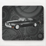 Chevelle 1970 SS: Acabado en negro: Mousepad