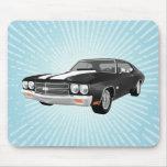 Chevelle 1970 SS: Acabado en negro: Mousepad Alfombrillas De Raton