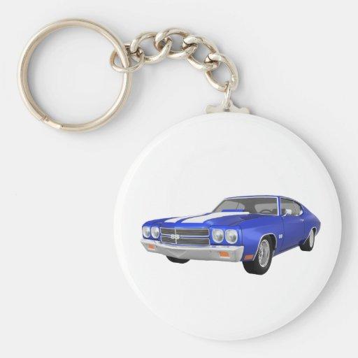 Chevelle 1970 SS: Final azul: Llavero