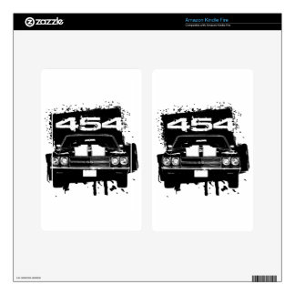 Chevelle 454 decal for kindle fire
