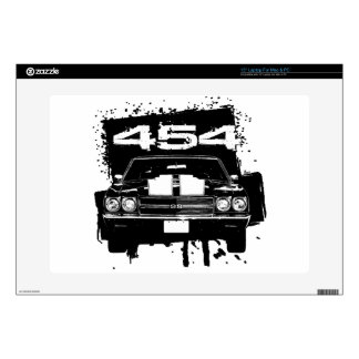 Chevelle 454 decal for laptop