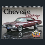 "Chevelle Calendar<br><div class=""desc"">12 months of the classic Chevrolet Chevelle. Professionally photographed to bring out the cars true beauty. A true muscle car!!</div>"