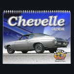 """Chevelle Car Calendar<br><div class=""""desc"""">The Chevrolet Chevelle Calendar is here. New photos of the classic Chevy. These muscle cars ruled the roads in the 1960s into the 1970s.</div>"""