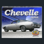 "Chevelle Car Calendar<br><div class=""desc"">The Chevrolet Chevelle Calendar is here. New photos of the classic Chevy. These muscle cars ruled the roads in the 1960s into the 1970s.</div>"