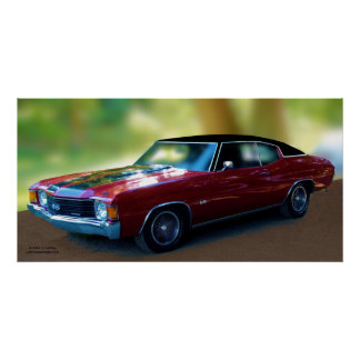 CHEVELLE SS396 POSTER