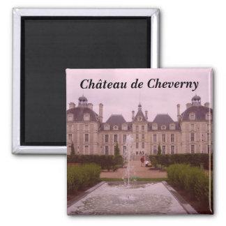 Cheverny - imán cuadrado