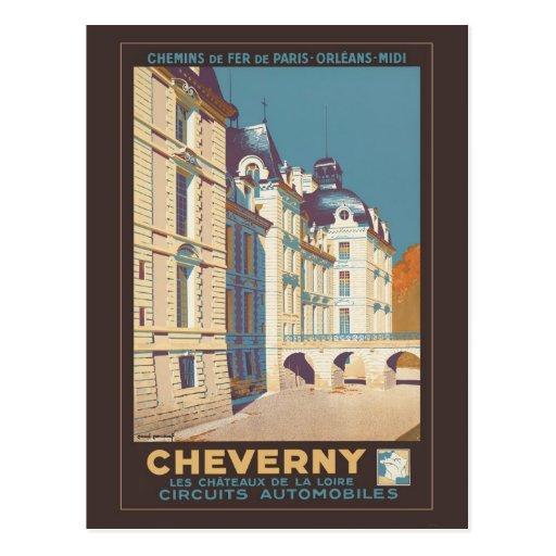 Cheverny Postcard