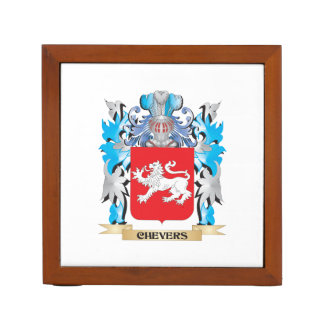 Chevers Coat of Arms - Family Crest Desk Organizers