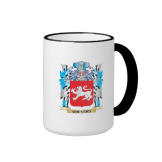 Chevers Coat of Arms - Family Crest Mugs